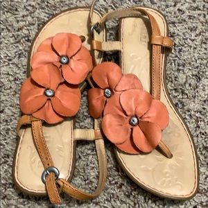 Born All Leather Sandals Sz 7.5